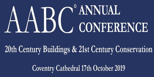 AABC Anniversary Conference and AGM Coventry 2019