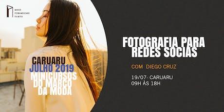 Minicursos do Marco da Moda (JUL. 2019 - CARUARU) - Fotografia Para Redes Sociais ingressos