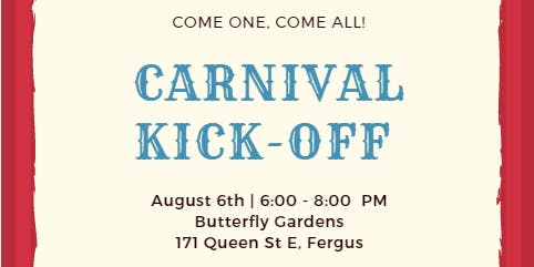 Hello August: Carnival Kick-Off
