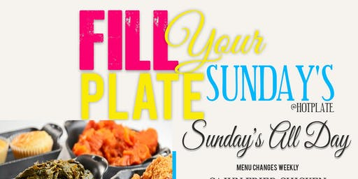 Fill your Plate Sunday's