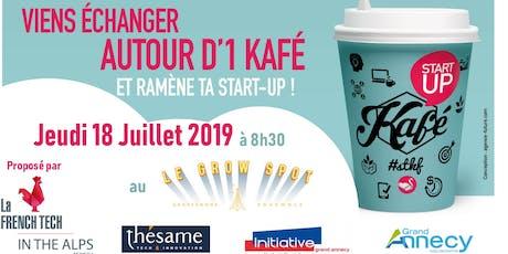 StaRt up Kafé - proposé par la French tech in the Alps au Grow Spot Annecy billets