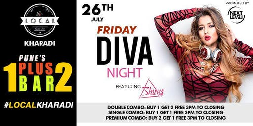 Friday Diva Night - Dj Shreyal
