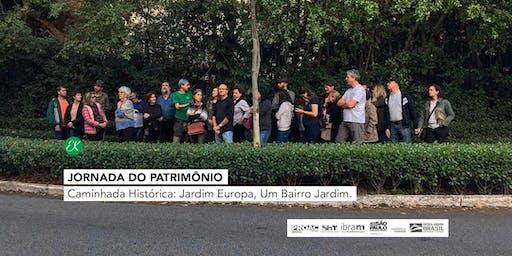 Caminhada Histórica: Jardim Europa, Um Bairro Jardim → Jornada do Patrimônio