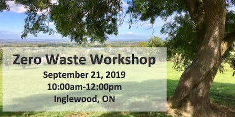 Zero Waste Workshop! tickets