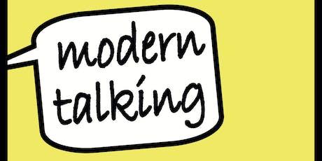 modern talking - Krisenintervention nach hochbelastenden Lebenserfahrungen Tickets
