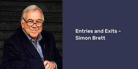Entries and Exits – Simon Brett tickets