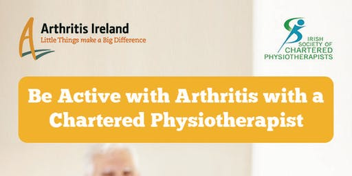 Be active with arthritis' Physiotherapist programme ,Moynehall, Cavan