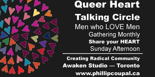 Queer Heart Talking Circle + Create Radical Community