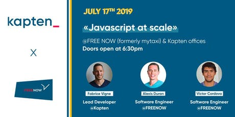 Javascript at scale entradas