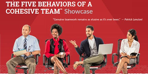 Five Behaviours of a Cohesive Team.