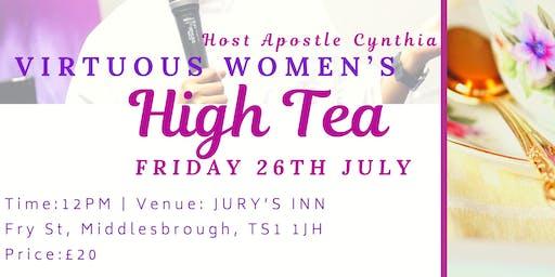 VIRTUOUS WOMEN HIGH TEA