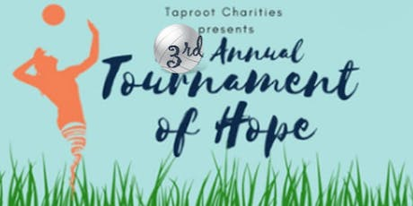 Taproot Charities 3rd Annual Tournament of Hope tickets