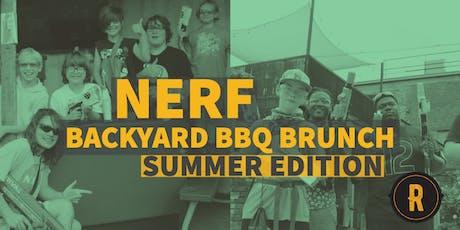 Nerf BBQ Brunch at Railgarten tickets