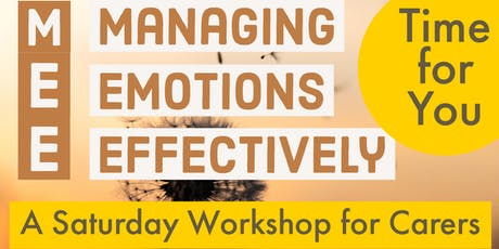 CHELMSFORD - MANAGING EMOTIONS EFFECTIVELY tickets