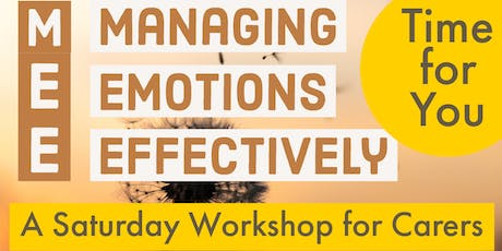 COLCHESTER - MANAGING EMOTIONS EFFECTIVELY tickets