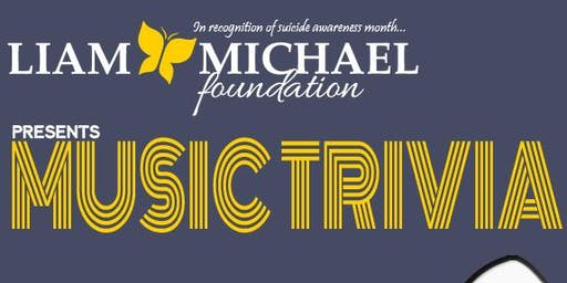 Music Trivia Fundraiser - $200.00 per table of 8