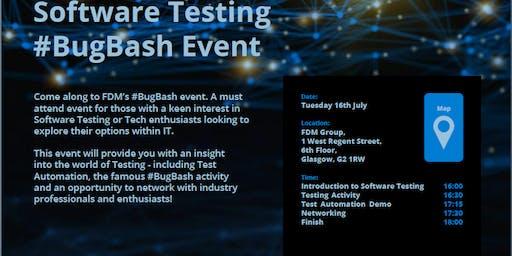 FDM Software Testing #BugBash