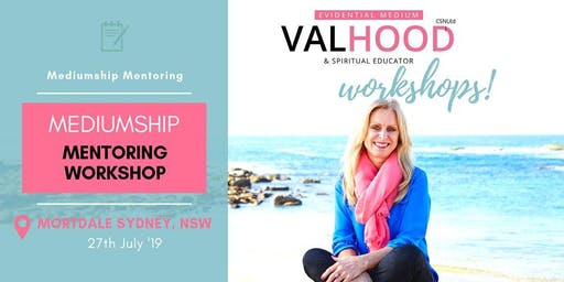Sydney Mediumship Mentoring Workshop (27 July)