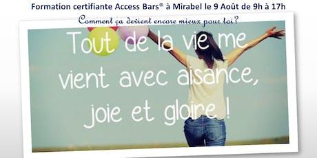Classe certifiante Acess Bars Laurentides billets