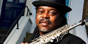 Jazz Pioneer Courtney Pine at Boisdale of Canary Wharf