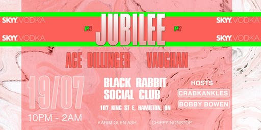 Sky Vodka Presents: Pep Rally: Jubilee with Ace Dillinger and Vaughan