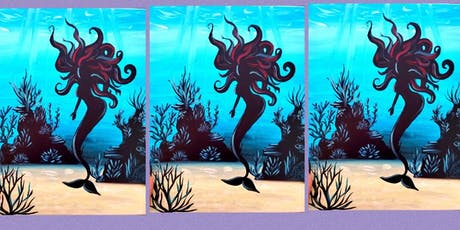 Under the Sea Mermaid Family Paint Party tickets