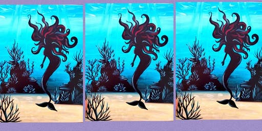 Under the Sea Mermaid Family Paint Party