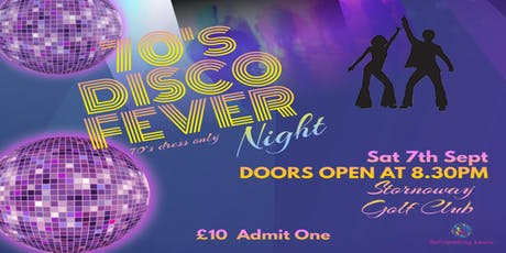 "70's ""Disco Fever"" Night tickets"