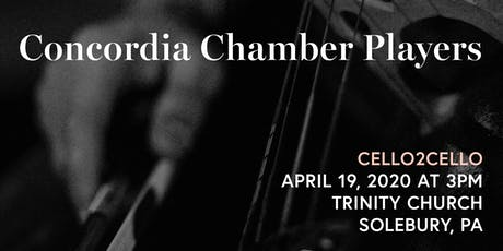 Concordia Chamber Players @ Trinity: Sunday, April 19, 2020 tickets