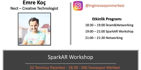SparkAR Workshop - Emre Koç (Nect) tickets