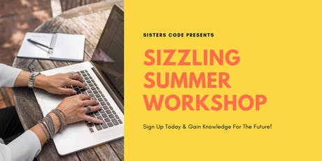 Sizzling Summer Coding Workshop tickets