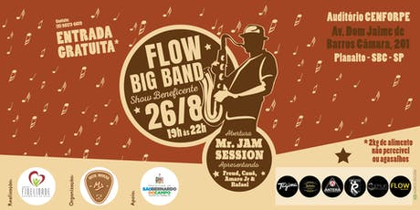 Flow Big Band - Show Beneficente ingressos