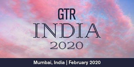 GTR India 2020 tickets