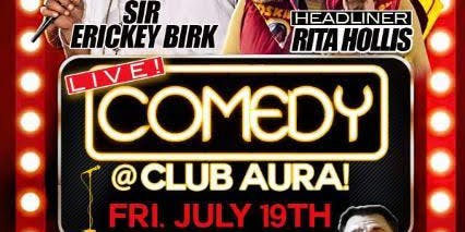 Live Comedy at Club Aura