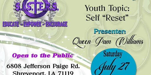 "Yes I Can Youth Empowerment Session /SELF ""RESET"""