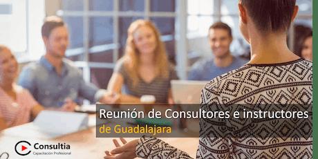Reunión de Consultores e Instructores - Julio boletos