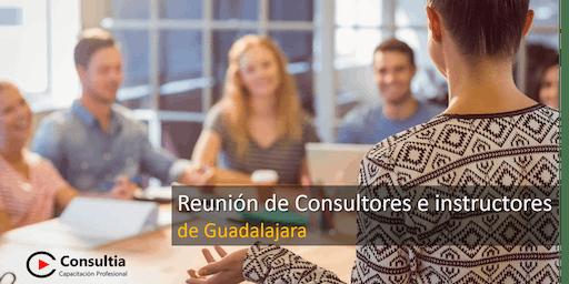 Reunión de Consultores e Instructores - Julio