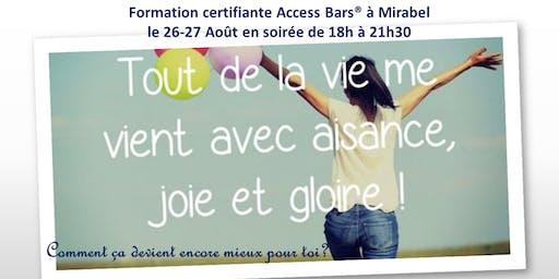 Classe certifiante Access Bars Laurentides en soirée