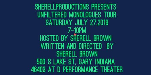 Unfiltered Monologues Tour