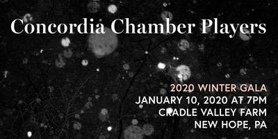 Concordia Chamber Players Winter Gala: January 10, 2020