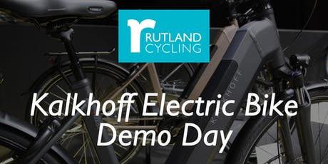 Free Kalkhoff Electric Bike Demo Day tickets