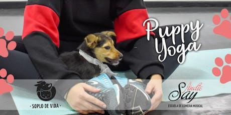 Puppy Yoga - Andie Say by Soplo de Vida  entradas