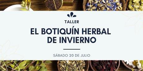 TALLER: EL BOTIQUÍN HERBAL DE INVIERNO entradas