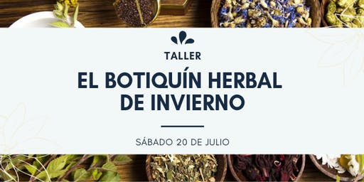 TALLER: EL BOTIQUÍN HERBAL DE INVIERNO
