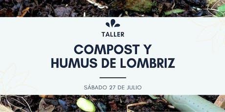 TALLER: COMPOST Y HUMUS DE LOMBRIZ entradas
