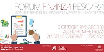 1° Forum Finanza Pescara