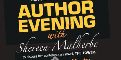 Author Evening with Shereen Malherbe: The Tower