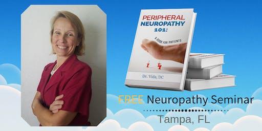 FREE Peripheral Neuropathy & Nerve Pain Breakthrough Dinner Seminar- Tampa, FL