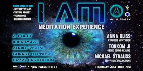 I AM Meditation Experience by Anna Bliss + Visual Reality at Wisdome.LA tickets