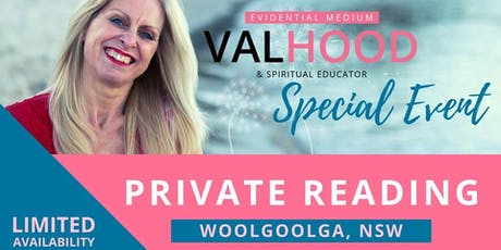 Private Readings with Val Hood (Springwood, QLD) - 12th August tickets